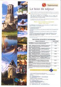Affiche taxe de séjour 04-2016