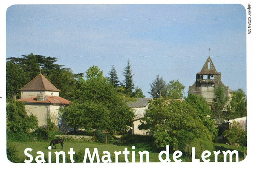 Communauté de Communes du Sauveterrois - Photo Saint Martin de Lerm