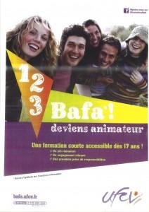 Communauté de Communes du Sauveterrois - Affiche BAFA